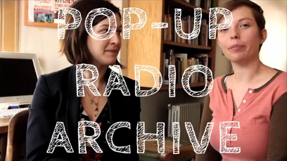 Pop-Up Radio Archive