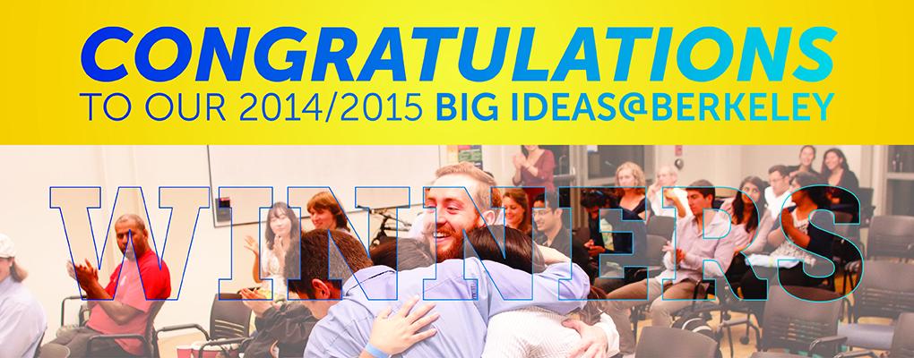Big Ideas@Berkeley Winners