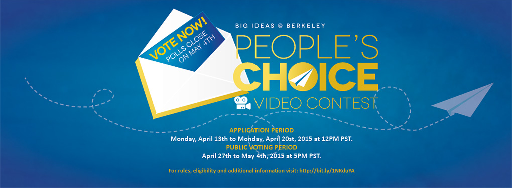 Big Ideas@Berkeley People's Choice Video Contest
