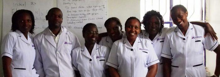 Members of Jacaranda Health's clinical team.