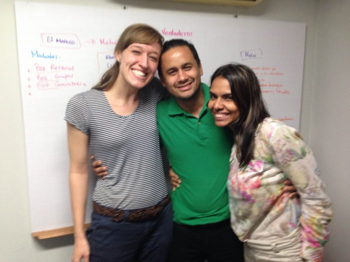 Nerissa Nance, Jairo Martinez, and Vanessa Sanchez Conquett