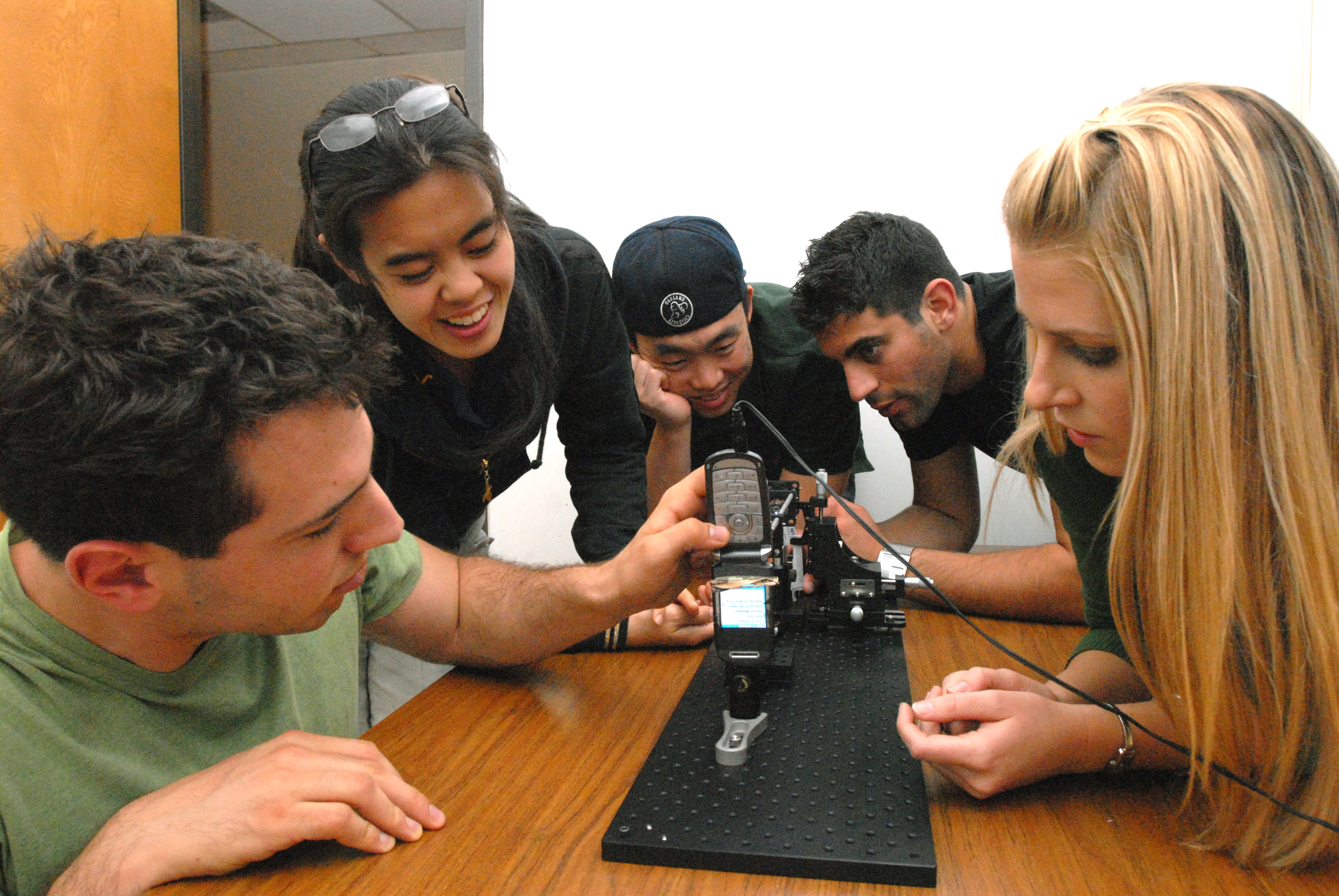 CellScope students testing